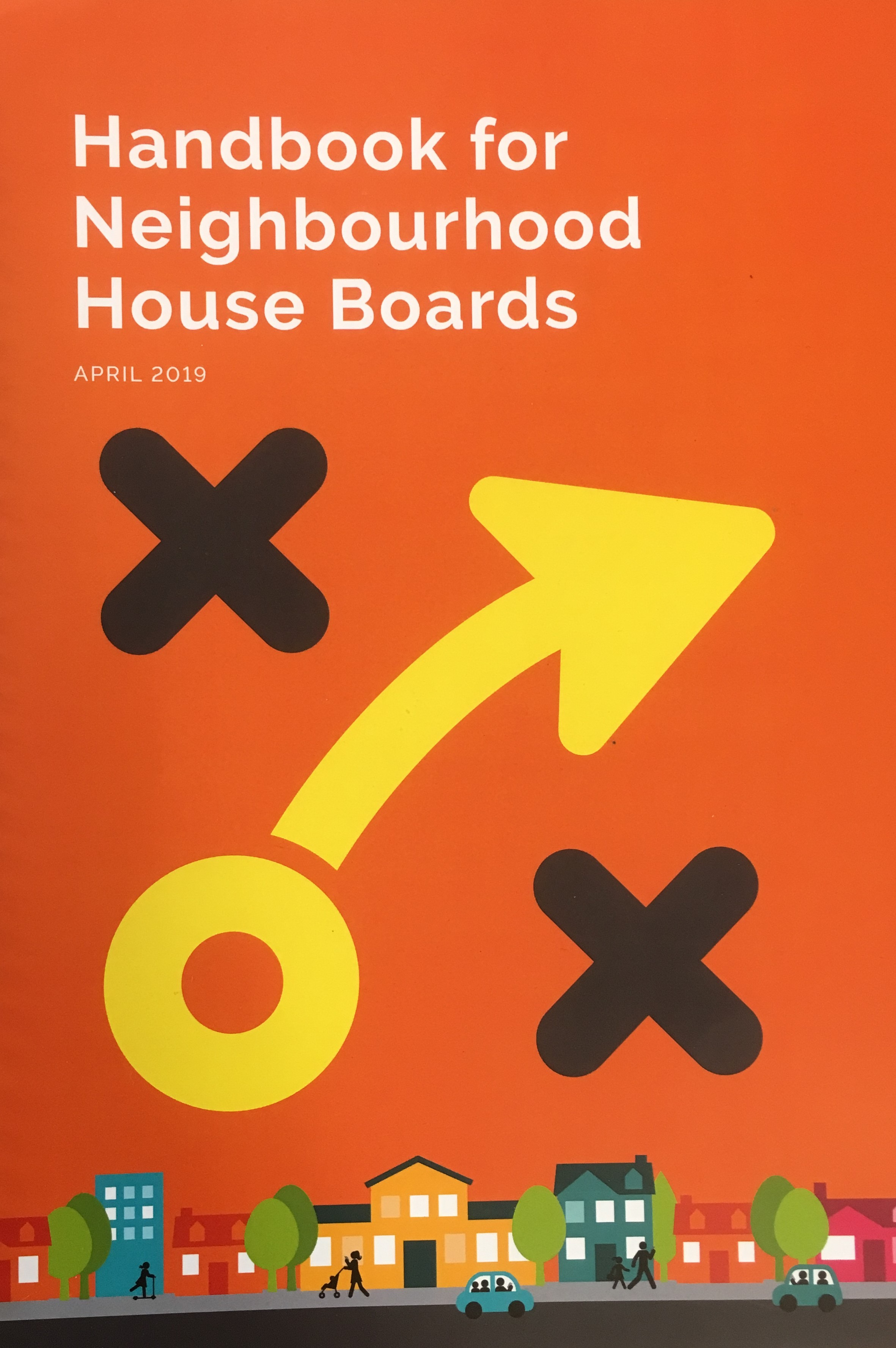 Handbook for Neighbourhood House boards COVER