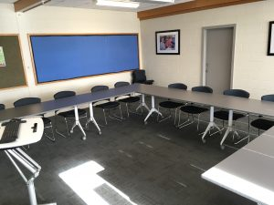 View of training room