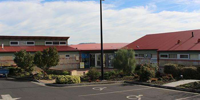 Image of the outside of Gagebrook Community Centre (JRS)