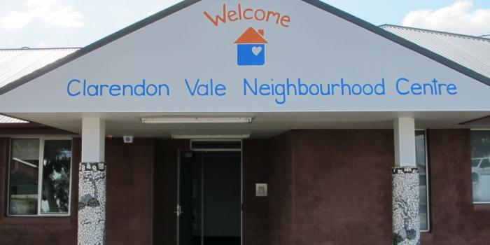 Image of the front of Clarenodon Vale Neighbourhood Centre